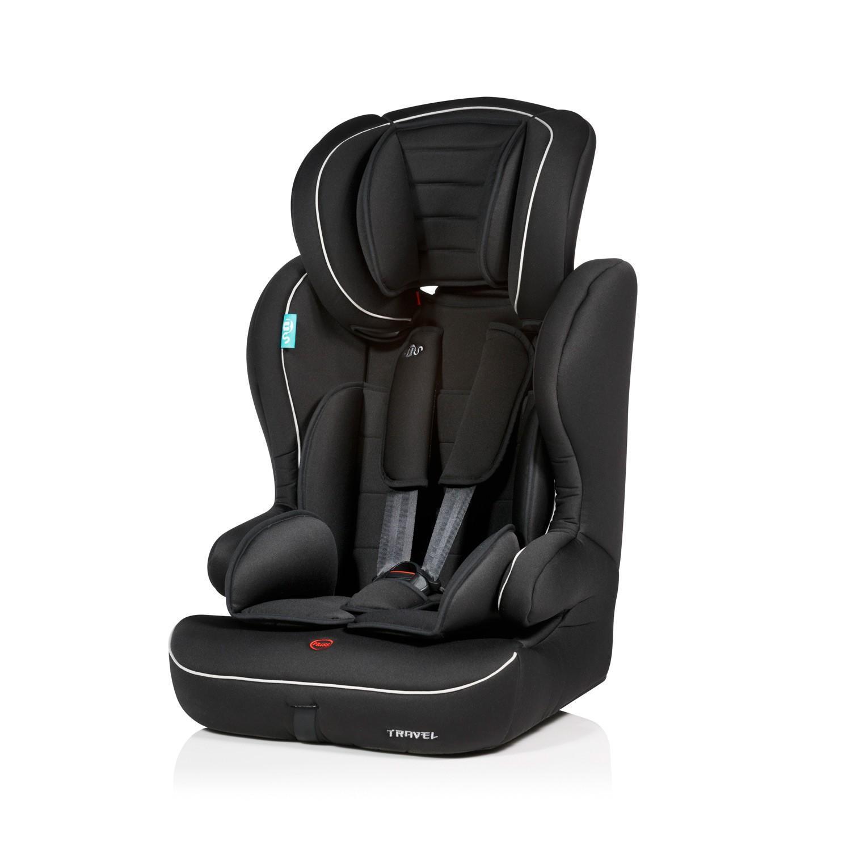 Grupo 1 2 3 silla auto travel negra gris ms - Silla 1 2 3 reclinable ...