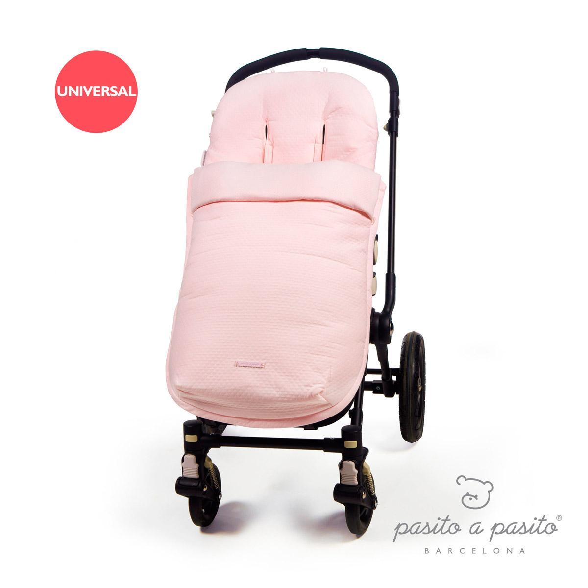 Sacos y colchas saco silla beb invierno catania rosa pasito a pasito - Sacos silla bebe invierno ...