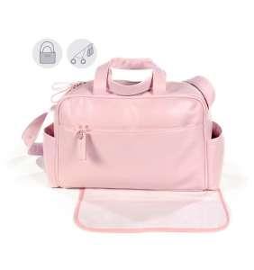 Bolso maternidad bebé New Cotton rosa Pasito a Pasito