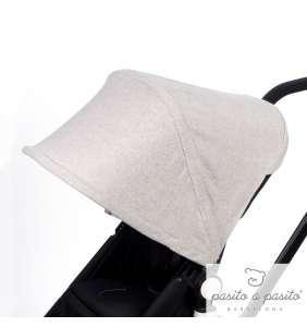 Capota silla bebé inviero Bugaboo Camaleon Sweet Tweed gris Pasito a Pasito