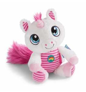 Peluche bebé 22 cm. Unicornio Fyala Dulces sueños NICI