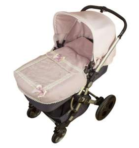Saco colcha bebé Bodoques Lencero rosa Rosy Fuentes