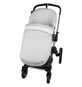Saco silla verano bebé Lunarito reversible gris Rosy Fuentes