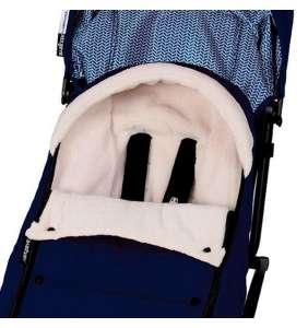 Saco silla invierno bebé Yoyo azul marino Babyzen