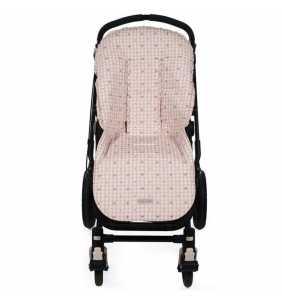 Colchoneta silla bebé YUMMI rosa Pasito a Pasito