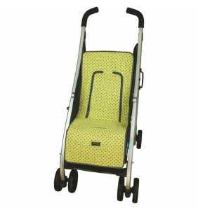 Colchoneta silla bebé recta MD725 amarillo Rosy Fuentes 2020