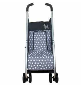 Colchoneta silla bebé MD.729 gris Rosy Fuentes 2020