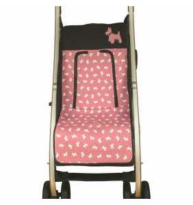 Colchoneta silla bebé MD.729 rosa empolvado Rosy Fuentes 2020