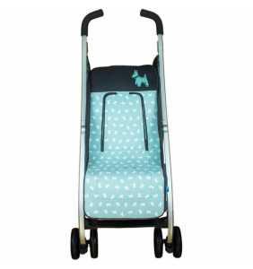 Colchoneta silla bebé MD.729 verde Rosy Fuentes 2020