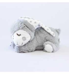 Oveja térmica bebé gris Interbaby
