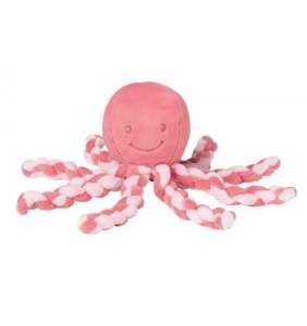 Pulpo bebé Piu Piu rosa pastel Nattou
