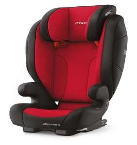 Elevador bebé Monza Nova Evo Seatfix Racing Red Recaro