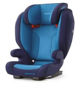 Elevador bebé Monza Nova Evo Seatfix Xenon Blue Recaro