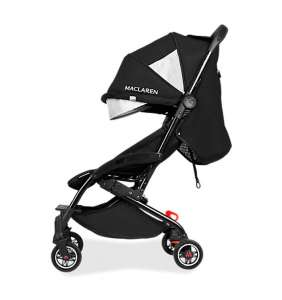 Silla paseo bebé Atom negro Maclaren 2021